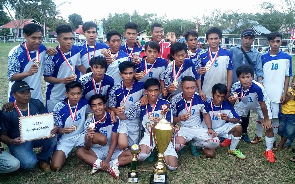 Manggonk Pemuda Luwu Timur Pemain Terbaik di Turnamen Karang Taruna Cup Morowali