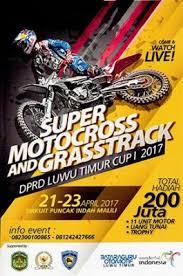 Begini Persyaratan Ikut Super Grasstrack & Motocross DPRD Cup 1 Luwu Timur