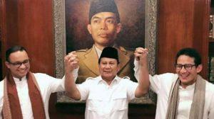 Gerindra Deklarasikan Kemenangan Anies-Sandi