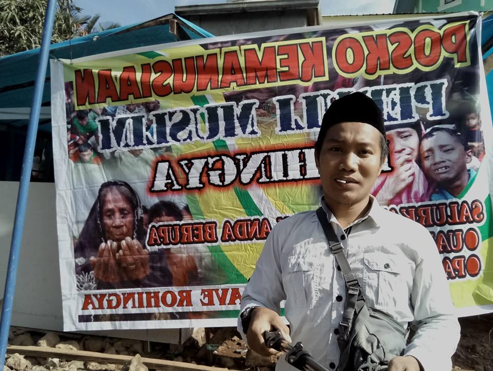 Aliansi Masyarakat Pesisir Timur Towoti Bersama Mahasiswa, gelar Aksi Peduli Muslim Rohingya