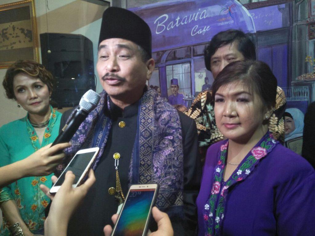 Menteri Pariwisata Batavia Cafe Turut Berkontribusi Dalam Memajukan Pariwisata Indonesia