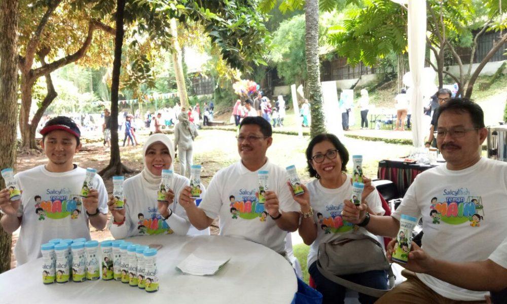 Teman Anak Ceria, Salicyl Fresh Ajak Anak-Anak Belajar di Ruang Terbuka Hijau