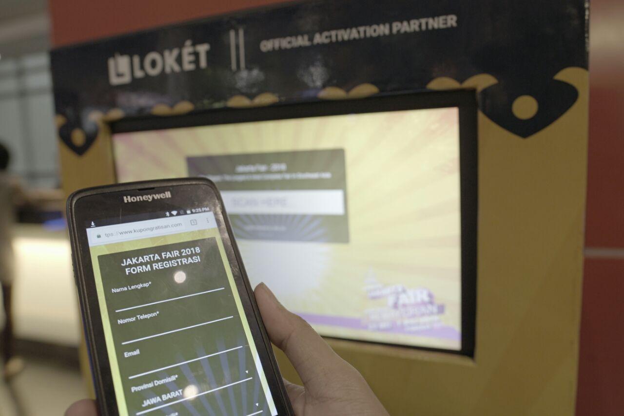 Resmi Berpartner, LOKET Ambil Peran Aktivasi Ticketing Digital di Jakarta Fair 2018