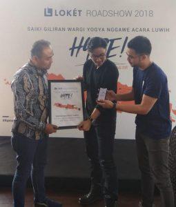 Loket.com Dukung Gerakan Sosial Komunitas dan Individu Kreatif Yogyakarta