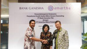 Amartha Kerja Sama dengan Bank Ganesha Dorong Kemajuan Pengusaha Mikro