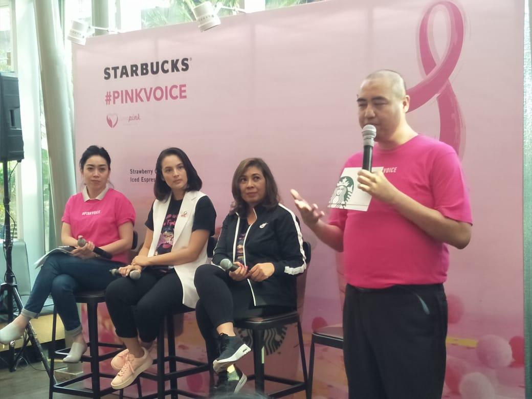 Dukung Kampanye Pink Voice, Starbucks Indonesia Merilis Tiga Minuman Spesial