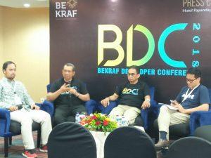 Bekraf dan AGI Rumuskan Pengembangan Industri Digital 2019