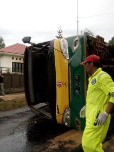 Kecelakaan Bus PT.Vale Telan Korban Meninggal Dunia