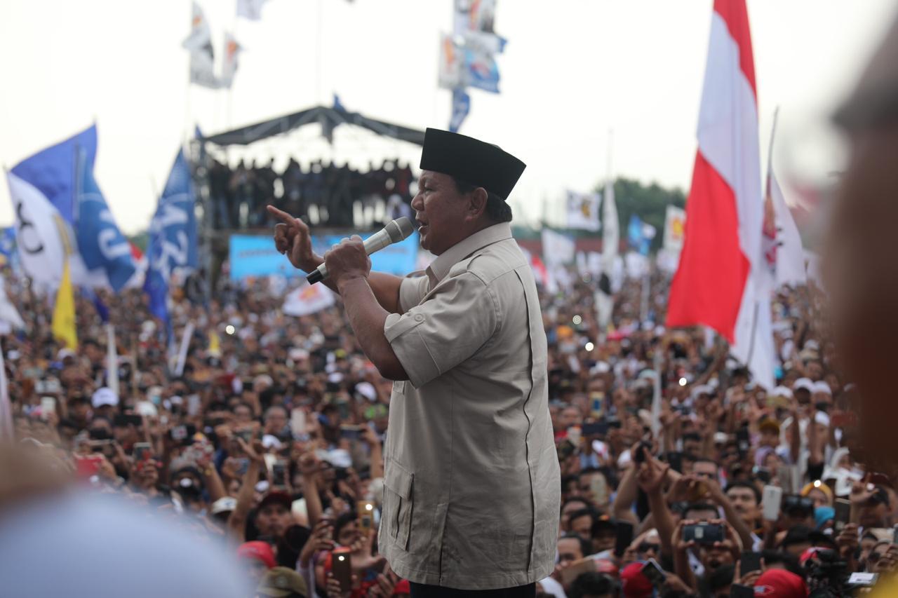 Prabowo Muak Kekayaan Indonesia Dirampok