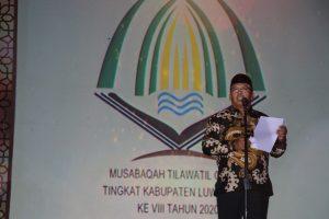 Bupati Husler Buka MTQ Ke VIII Tingkat Kabupaten Luwu Timur