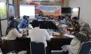 Rakor KPU Lutim Dan Forkopimda Sosialisasikan PKPU 5 Tahun 2020