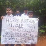 HUT Ke 52 PT Vale Indonesia, Pelajar Desa Balambano Harapkan Jaringan Internet