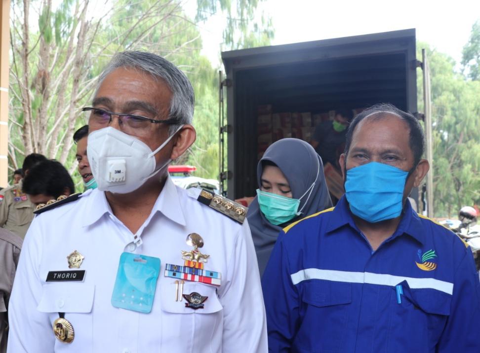 Hari ini, Pemkab Lutim Beri Bantuan Kepada Korban Banjir Luwu Utara