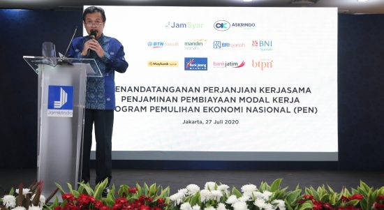 PT Jamkrindo Syariah Melakukan Penjaminan Pembiayaan Program PEN