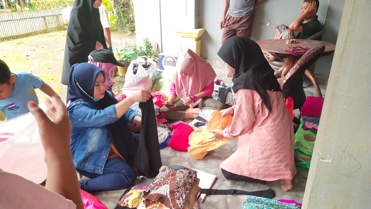 Pemuda Desa Kawata Open Donasi Untuk Korban Banjir Bandang di Luwu Utara