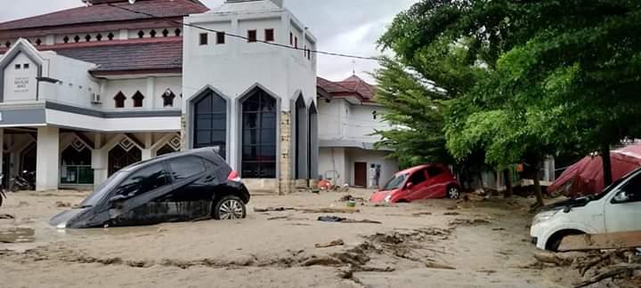 Potret Banjir Masamba, Luwu Utara