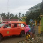 Puskesmas Parumpanai Terjunkan Tim Susur Pengungsian Korban Banjir Masamba
