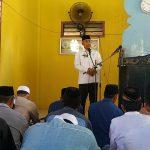Sholat Jumat di Masjid, Husler Ajak Masyarakat Sukseskan Pilkada