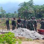 TNI Bersama BPPW Sulsel Akan Bangun 400 Unit Huntara Untuk Korban Banjir Lutra