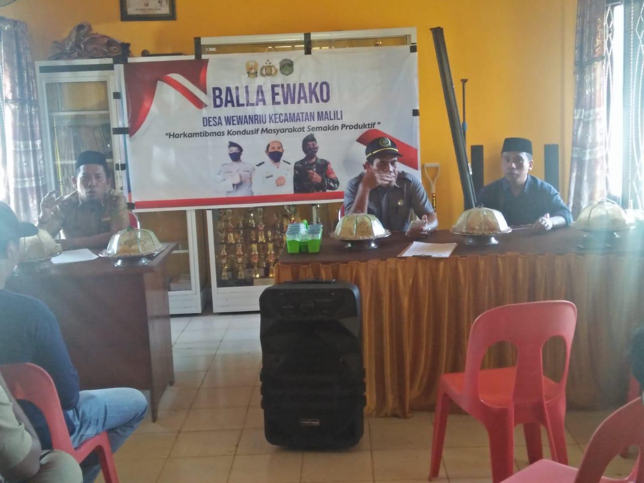 Warga Desa Wewangriu Bentuk Forum Pemerhati Masyarakat
