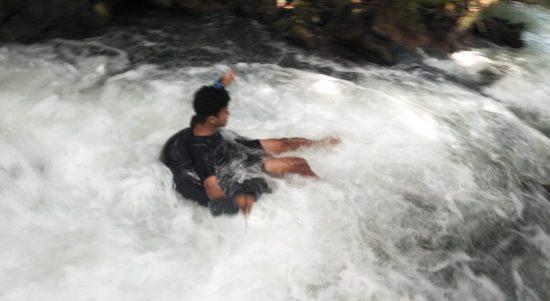 Pemuda BMB Hadirkan Objek Wisata Arung Jeram Sungai Balambano