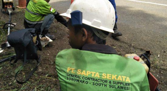 Karena Tidak Memberdayakan Masyarakat Dusun Balambano, 2 Kontraktor Vale ini Dihentikan