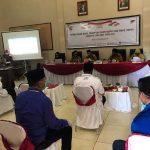 Terima Pendaftaran Paslon Bupati dan Wakil Bupati, KPUD Lutim Paparkan Tahapan Pilkada 2020