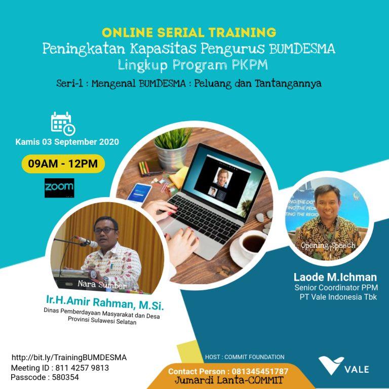 Wujudkan Program PKPM, Vale Perkuat Ekonomi Desa