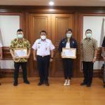 Pelopori KSBB di Tengah Pandemi, Bendum HIPMI Diapresiasi Wali Kota Jakut