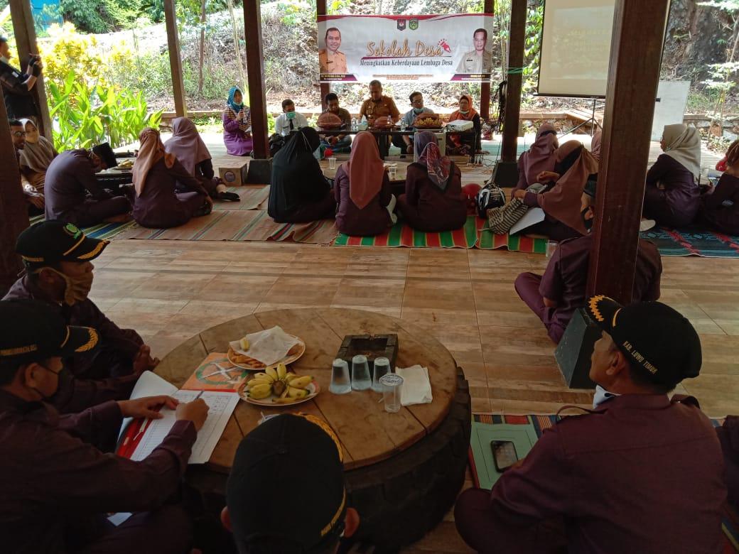 Gelar Sekolah Desa, DPMD Harapkan BPD Ikut Berperan Aktif Sukseskan Pilkades