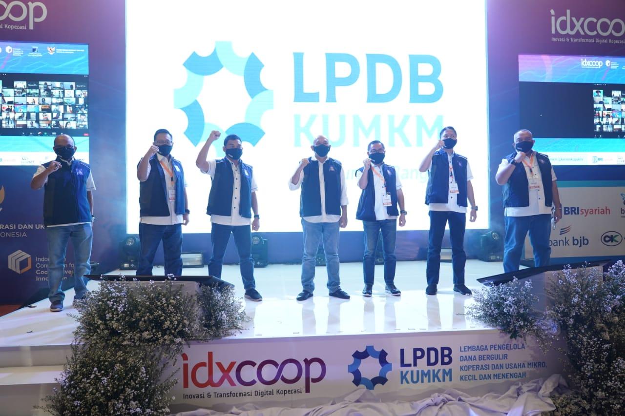 MenkopUKM Resmikan Logo Baru LPDB, Wujudkan Layanan Berkualitas