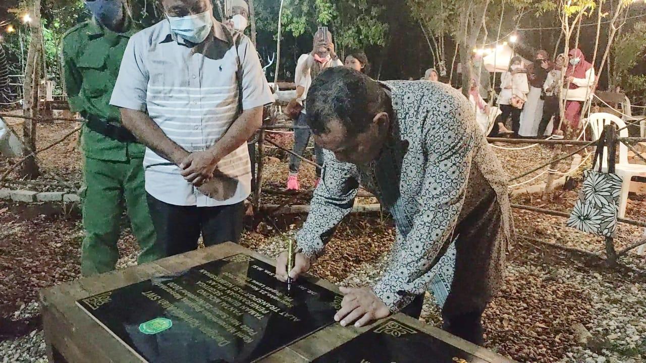 Optimalkan Desa Wisata, Jayadi Nas Resmikan Taman Bukit Segitiga Sorowako