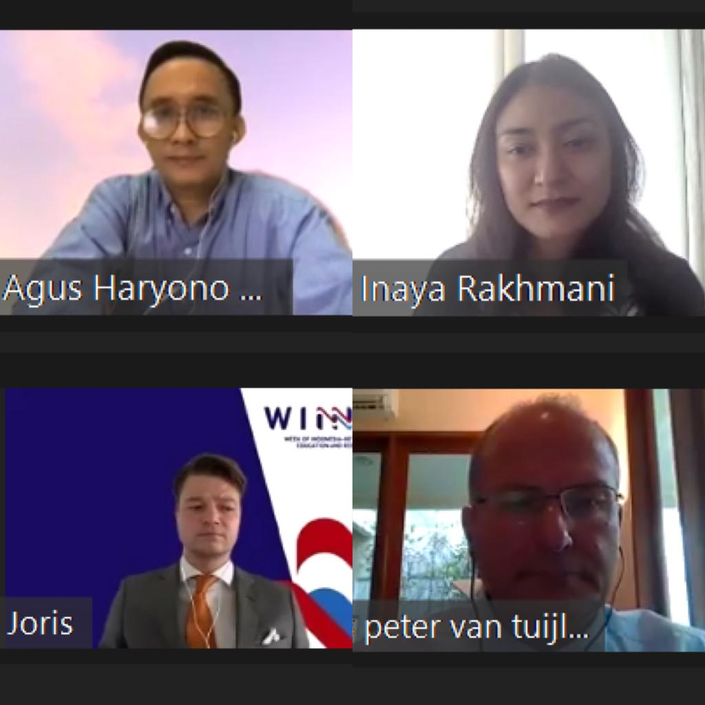 Pererat Hubungan Indonesia-Belanda, Nuffic Neso Gelar The Winner 2020