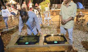 Taman Bukit Segitiga Diresmikan, Kades Sorowako Jika Dikelola Dengan Baik Mampu Menyumbang PAD yang Maksimal