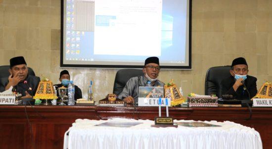 Tetapkan Ranperda APBD TA. 2021, Jayadi Nas Alhamdulillah Luwu Timur yang Tercepat di Sulsel
