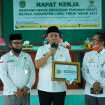 Peduli Zakat, Pemkab Luwu Timur Terima Penghargaan dari Baznas