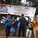 Peringati Hari Bela Negara ke 72, Lutim Gelar Kemah Baksos di Pantai Molino
