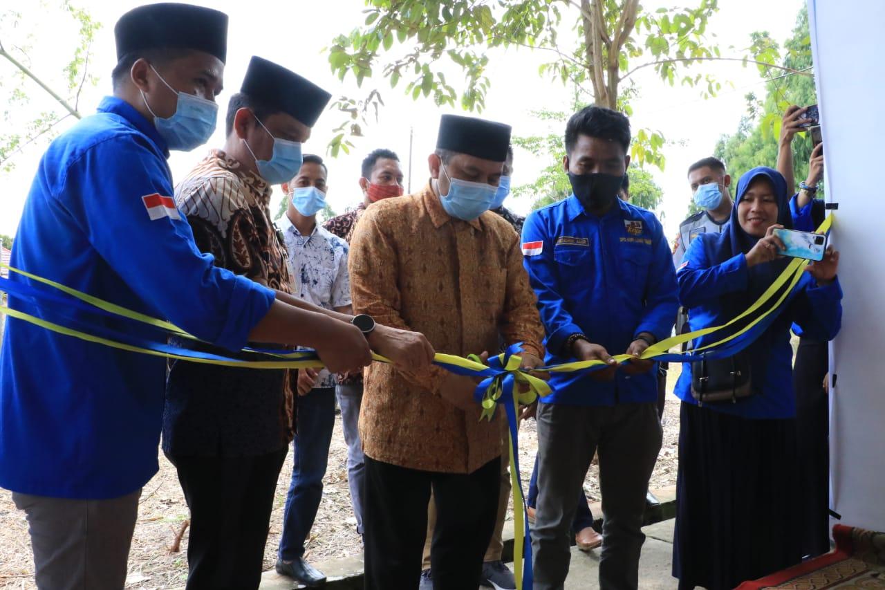 Resmikan Gedung Sekretariat KNPI Luwu Timur, Jayadi Nas Gedung ini Dimanfaatkan Dengan Baik