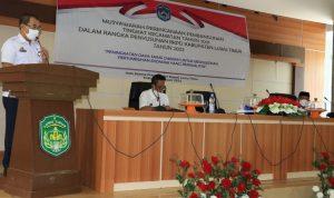 Musrenbang Kecamatan, Plh. Bupati Luwu Timur Minta OPD Prioritaskan Usulan Kecamatan