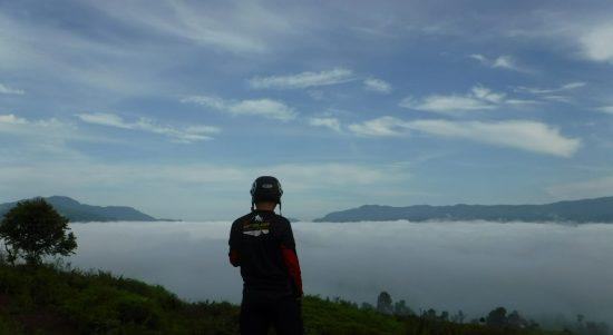Destinasi Wisata Bukit Awan Tabarano Mulai Ramai Dikunjungi