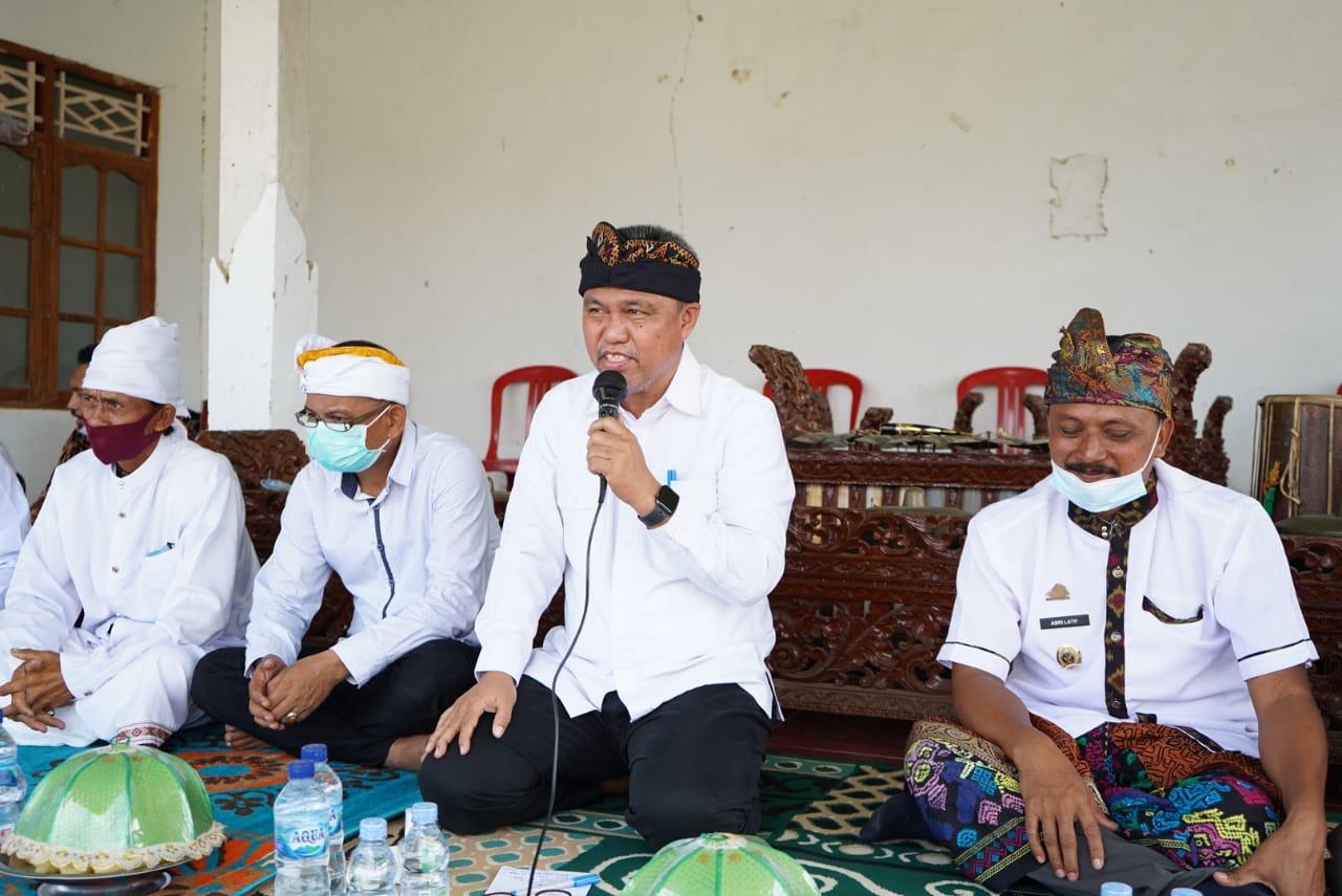 Pemkab Lutim di Peringatan Hari Jadi Pura Kalaena Paparkan Dana 2 Miliar Untuk Desa
