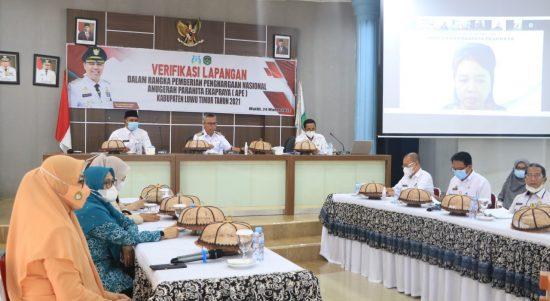 Pemkab Luwu Timur Masuk Verifikasi Nasional Penghargaan APE 2021