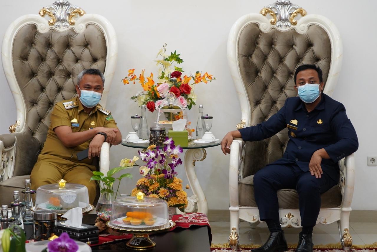 Plt. Gubernur Sulsel Pinta Wabup Budiman Fasilitasi Percepatan Bandara Sorowako