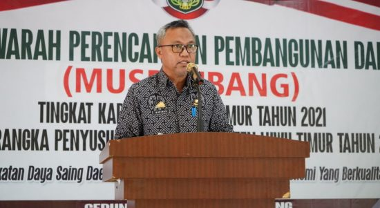 Wabup Budiman Musrenbang RKPD Prioritaskan Program Kepala Daerah