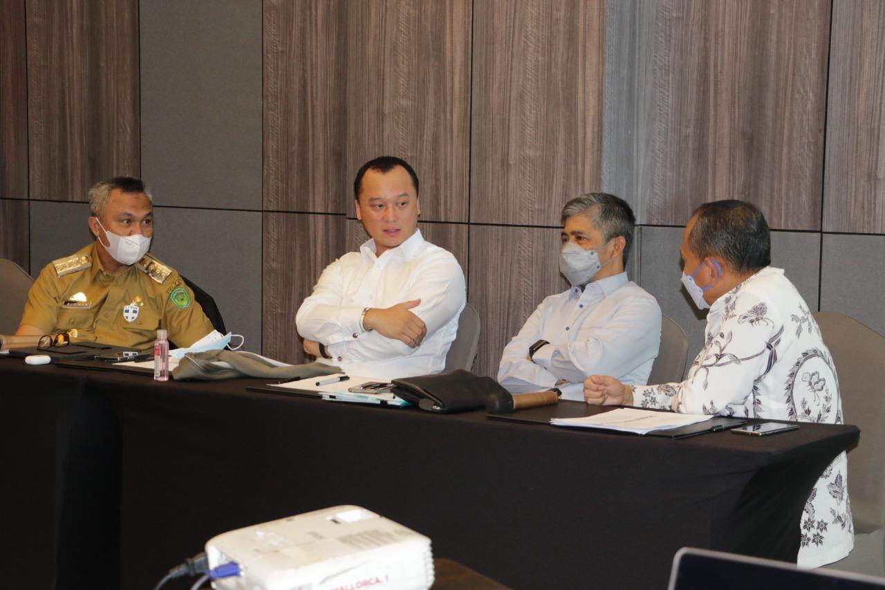 Bupati Luwu Timur Harapkan PT Bumi Timur Mineral Berikan Kontrubusi Maksimal