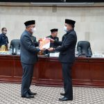 Bupati Luwu Timur Serahkan LKPJ TA. 2020 Ke DPRD
