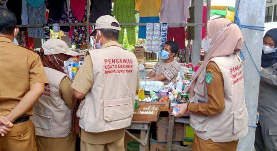Camat Angkona Apresiasi Kinerja Tim Pengawasan Obat dan Makanan di Pasar Solo