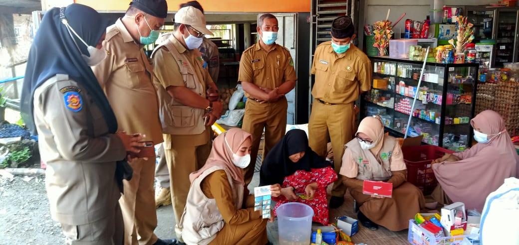 Pengawas Obat dan Makanan Temukan Barang Kadaluarsa di Pasar Tampinna