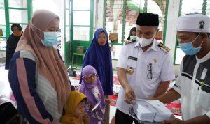 Berkah Ramadhan, Bupati Lutim Santuni Anak Yatim