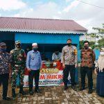 Pemberian BLT Tahap I, Kepala Desa Wewangriu Mengajak Masyarakatnya Untuk Tetap Menjalankan Prokes